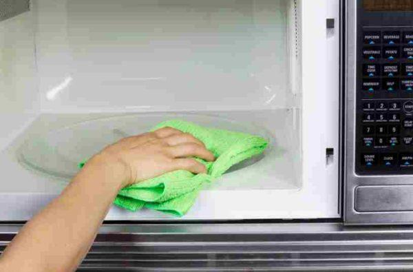 Limpieza del Microondas - Limpiar el Microondas