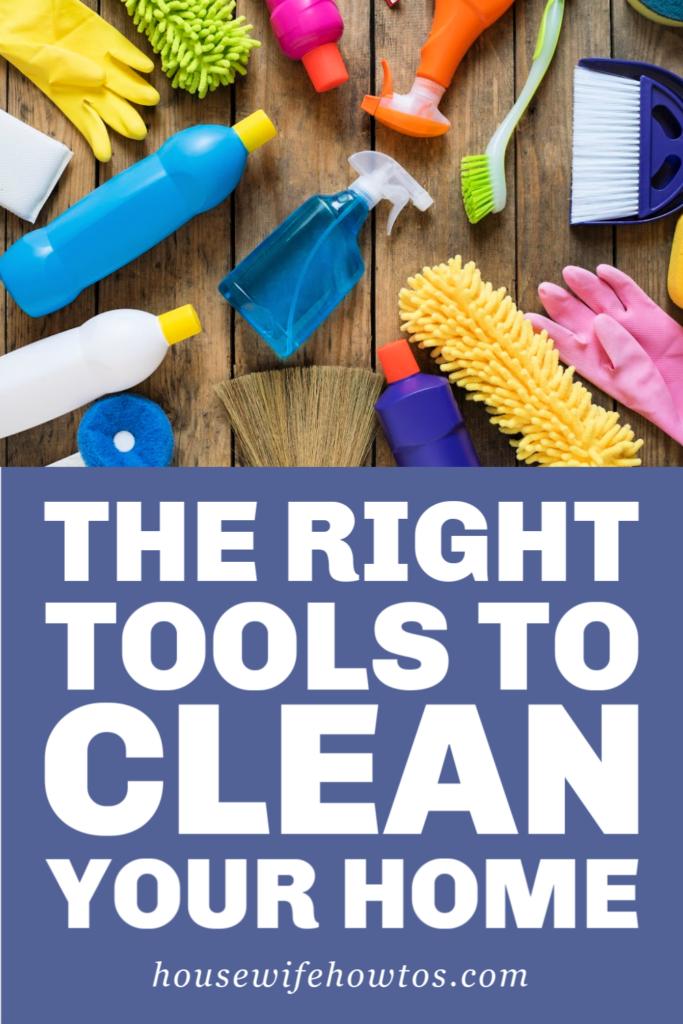 Herramientas de limpieza esenciales que todos deberían tener