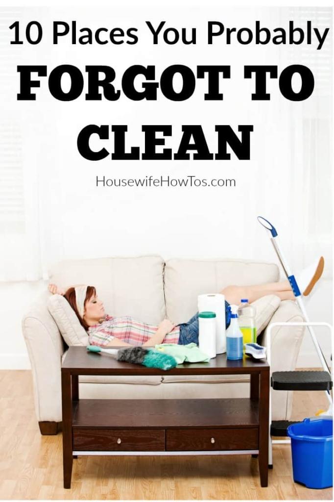Lugares que probablemente olvidó limpiar: soy una especie de fanático de la limpieza y, sin embargo, he pasado por alto estos lugares en el pasado. ¿Cuántos de ellos no estás limpiando? #limpieza #limpieza profunda #limpieza de primavera #consejos de limpieza #consejos de limpieza