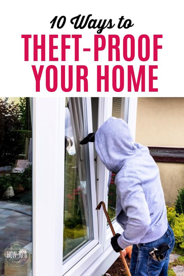Diez formas de proteger su hogar contra robos