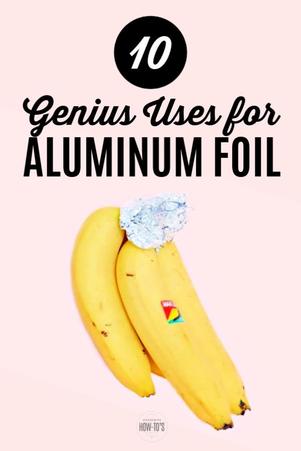 Usos del papel de aluminio para limpiar