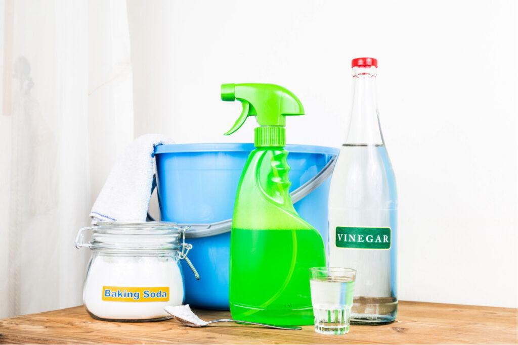 Ingredientes de la receta del limpiador casero