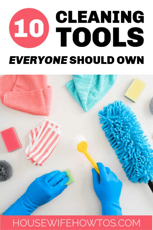 10 herramientas de limpieza que todos deberían tener