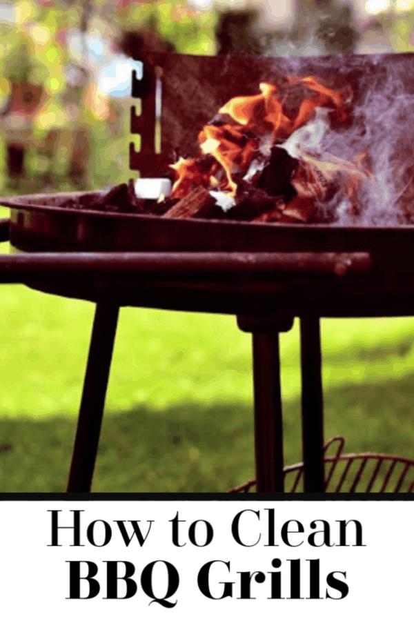 Cómo limpiar parrillas de barbacoa sucias