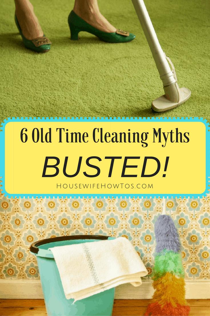 Mitos de la limpieza de antaño: ¿Aún te enamoras de ellos? Harán que su trabajo sea más difícil y, en algunos casos, pueden dañar permanentemente sus posesiones.