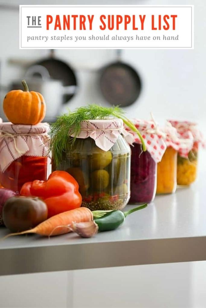 Productos básicos de la despensa que siempre debes tener a mano: me encanta una cocina bien equipada