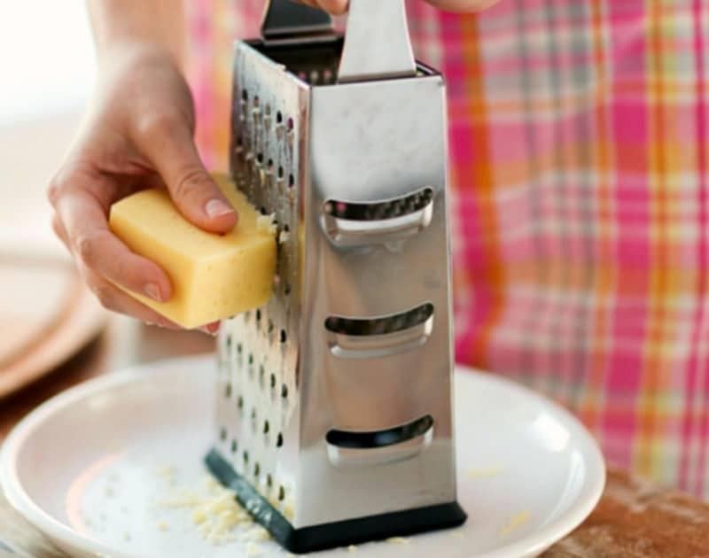 Trucos para cocinar rallador de queso