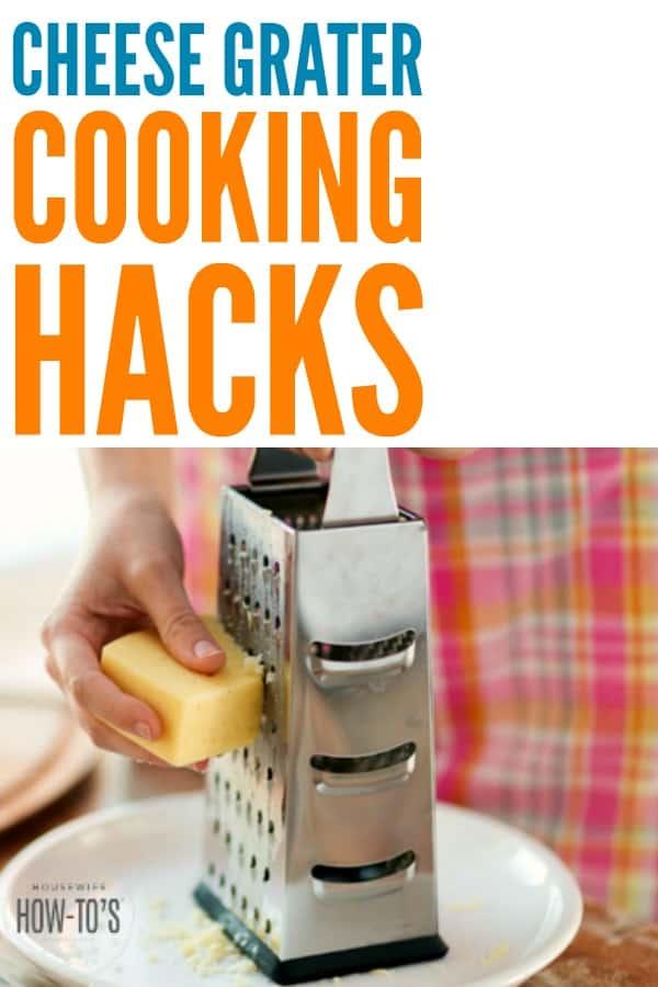 Trucos de cocina con el rallador de queso #cookinghacks #howtocook #makedinnerfaster #cookingtips #cooking #housewifehowtos #householdtips