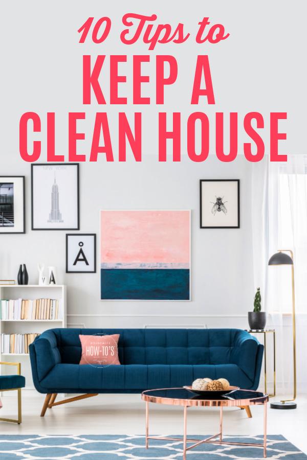 10 consejos para mantener una casa limpia