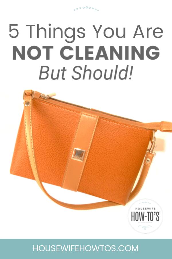5 cosas que no estás limpiando pero que deberías