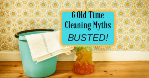 Mitos en limpieza