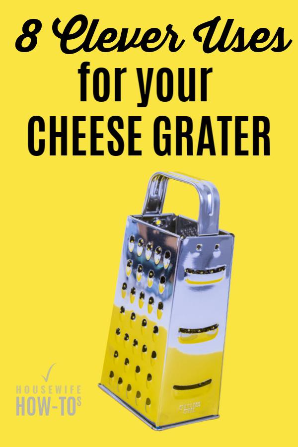 Usos inteligentes de un rallador de queso: trucos