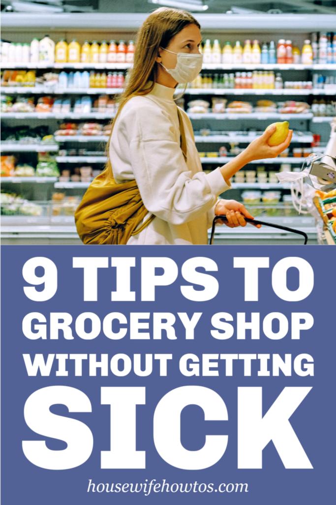 Cómo ir de compras sin enfermarse