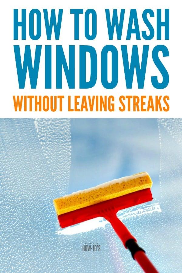 Cómo lavar las ventanas sin dejar rayas: consejos que me enseñó un limpiador de ventanas profesional # limpieza # limpieza de ventanas #housewifehowtos #householdtips #householdhints