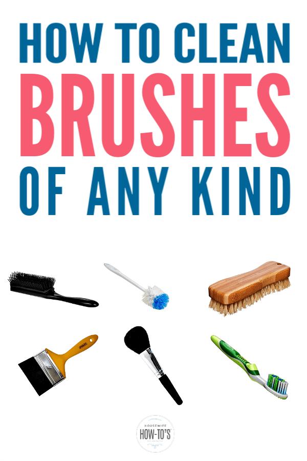 Cómo limpiar cepillos de cualquier tipo: elimine las bacterias y manténgalas funcionando como nuevas