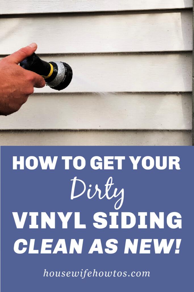 Cómo limpiar su revestimiento de vinilo sucio como nuevo