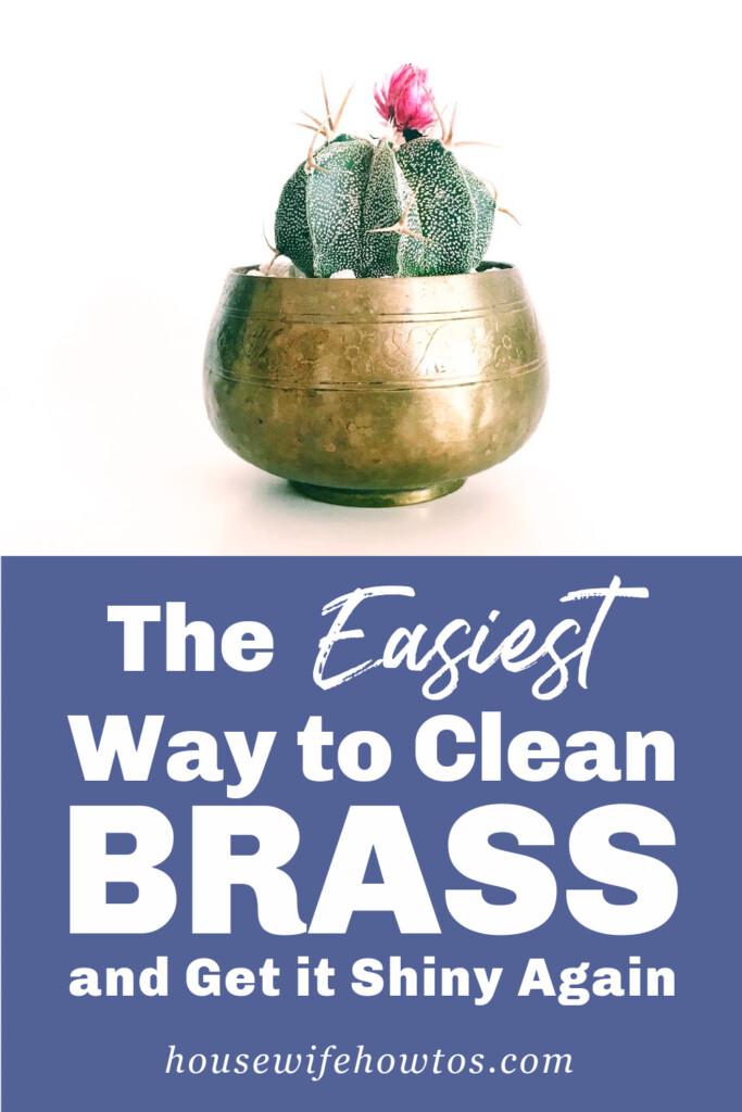 La forma más fácil de limpiar el latón y volverlo brillante