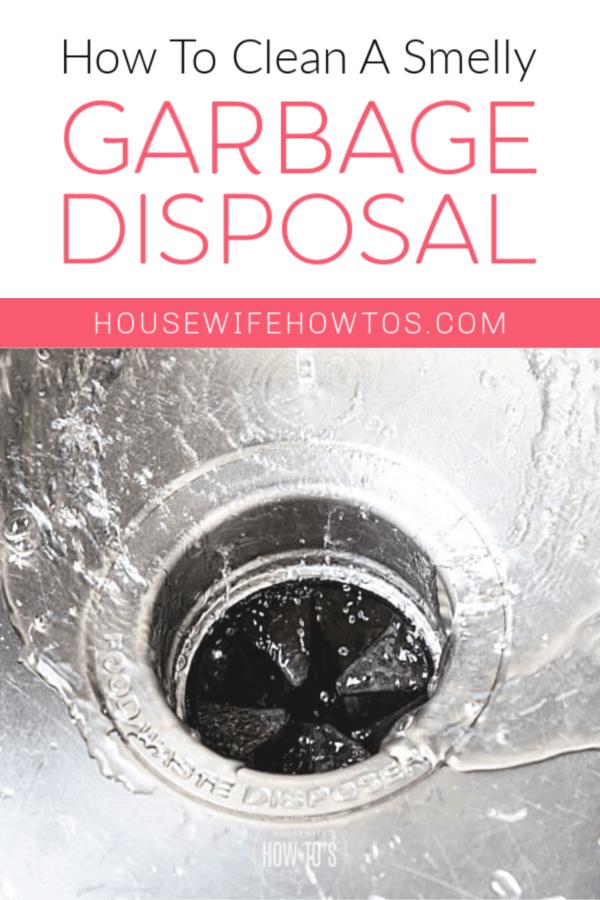 Cómo limpiar un triturador de basura maloliente