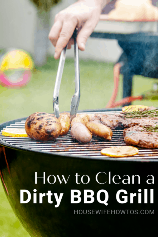 Cómo limpiar una parrilla de barbacoa