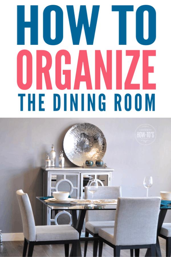 Cómo organizar los comedores: consejos para ordenar y maximizar el almacenamiento. #househowtos #organización #declutter