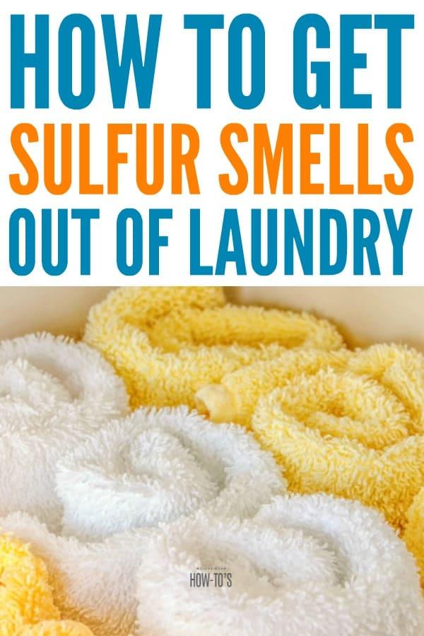 Cómo quitar el olor a azufre de la ropa - Mi hijo probó una crema de azufre para deshacerse del acné, pero dejó toda su ropa y toallas apestando hasta que probé esta. # lavanderia #odor de lavanderia #crema de azufre # olor a azufre #odor #control #odor #punta de lavanderia #hack de lavanderia #housewifehowtos #laundryday