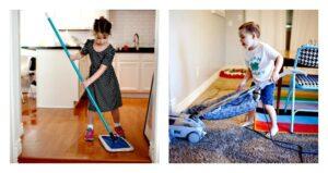 Juegos para hacer que los niños limpien