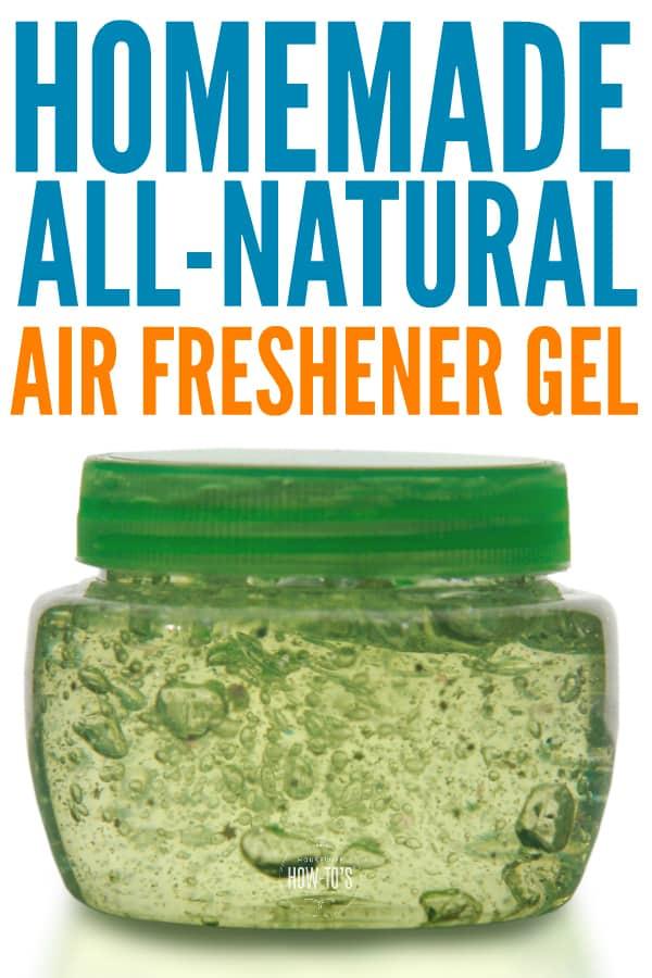 Gel ambientador casero - Receta fácil y totalmente natural para refrescar tu hogar #airfreshener #homefragrance #housewifehowtos #odorcontrol #cleaning