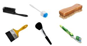 Limpiar Cepillos de Cualquier Tipo