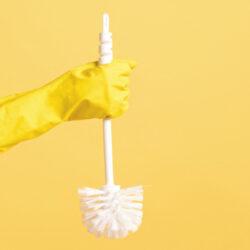 Limpiar un Inodoro Manchado