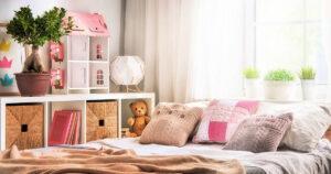 Ayudar a los niños a organizar sus habitaciones