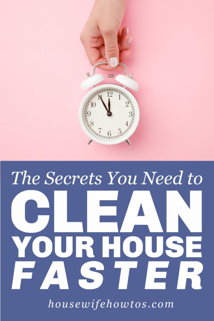 Los secretos para limpiar su casa más rápido: trucos de limpieza