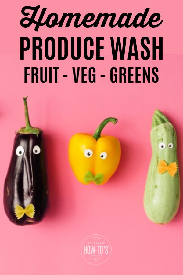 Lavado de frutas y verduras caseras para frutas, verduras y hojas verdes