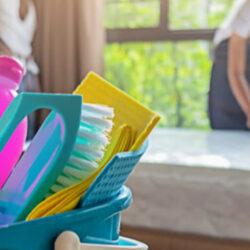 Rutina de limpieza mensual