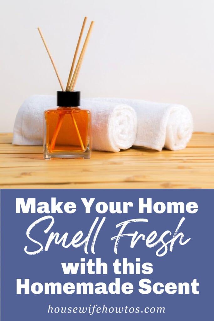 Haga que su hogar huela fresco con estas recetas caseras de ambientadores