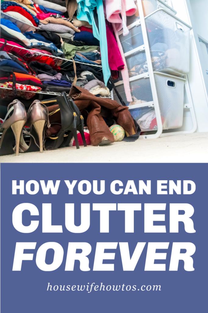 ¿Cómo puedes acabar con el desorden para siempre?