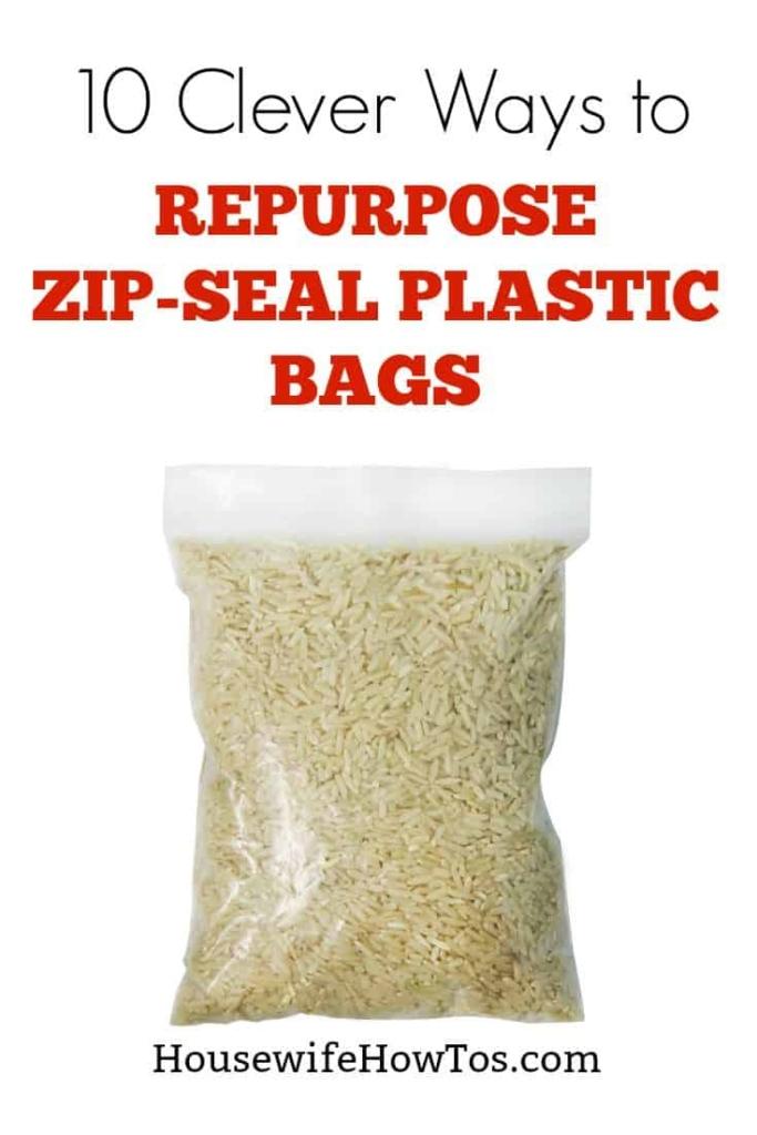 Maneras de reutilizar las bolsas de plástico | Solía sentirme tan culpable por comprarlos hasta que aprendí estas formas de usarlos una y otra vez #recycling