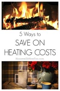 Maneras de ahorrar en gastos de calefacción este invierno | ¡Estos 5 sencillos consejos reducen mi factura de servicios públicos a la mitad! #ahorro #frugal
