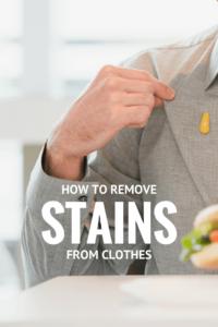 Cómo quitar las manchas de la ropa | Elimine las manchas de comida grasienta, las manchas de césped y otras manchas de ropa con estos consejos #lavado