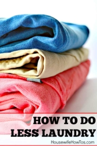 Cómo lavar menos ropa | Consejos para controlar la colada y establecer una rutina de lavado sabiendo qué ropa hay que lavar con qué frecuencia #lavado