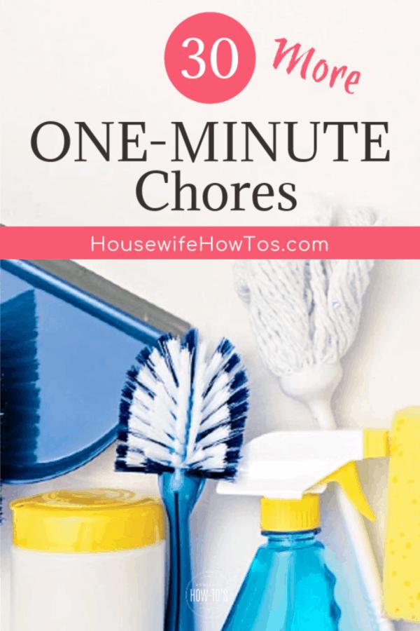 30 tareas más de un minuto