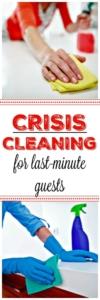 PIN de limpieza de crisis para huéspedes de último minuto