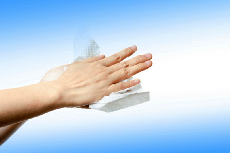 Toallitas caseras para limpiar y desinfectar