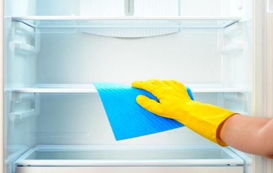 Cómo limpiar a fondo su refrigerador: limpie el interior y lave las cestas