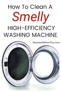 Cómo limpiar una lavadora HE maloliente para eliminar los olores y la acumulación # limpieza # lavandería