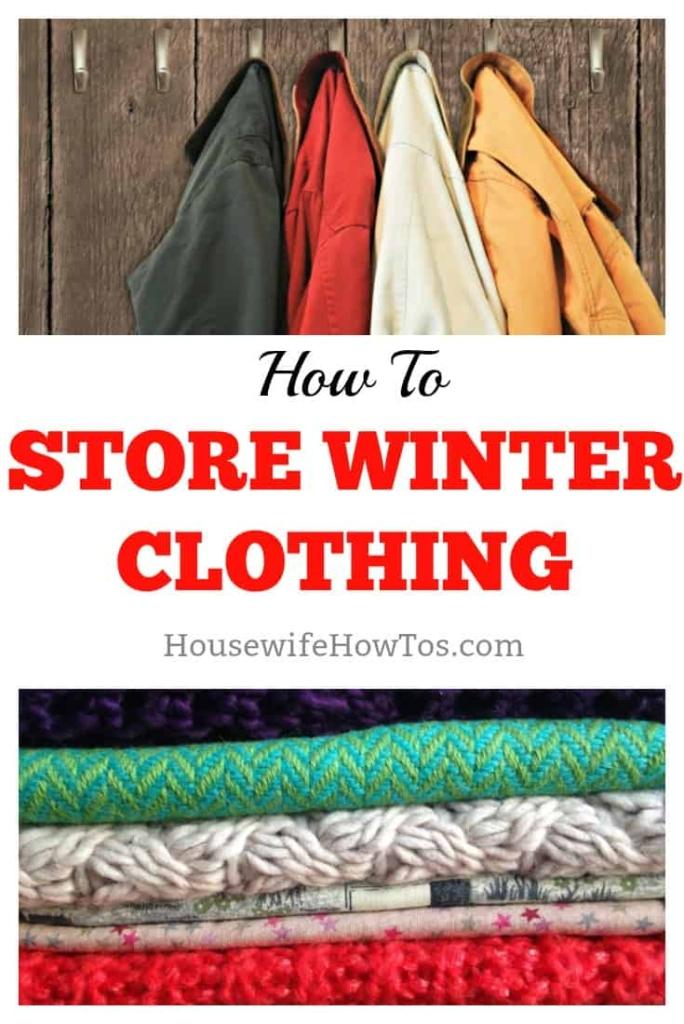 Cómo almacenar la ropa de invierno # almacenamiento de ropa # soluciones de almacenamiento # organización # organización del hogar # lavandería