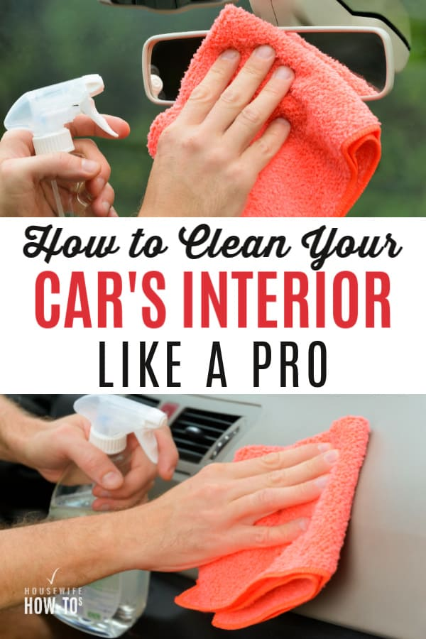Cómo limpiar el interior de un automóvil como un profesional detallado