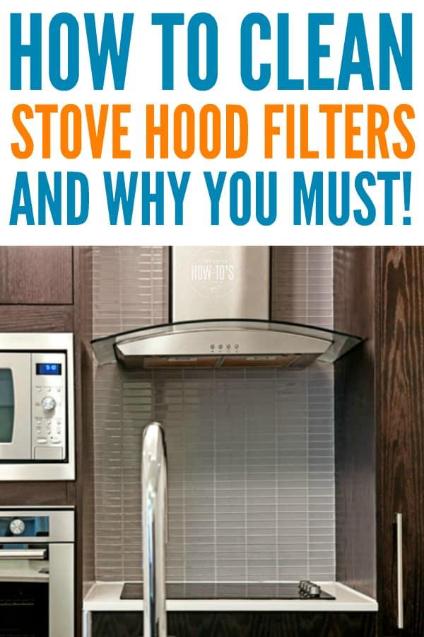 Cómo limpiar los filtros de la campana de la estufa: los filtros sucios son peligrosos y atraen plagas #limpieza de cocina # limpieza #amas de casahowtos # tareas del hogar