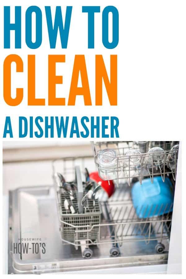 Cómo limpiar un lavavajillas: realmente acumulan moho y hongos, además de otras bacterias. Esto los mantiene limpios y funcionando como nuevos