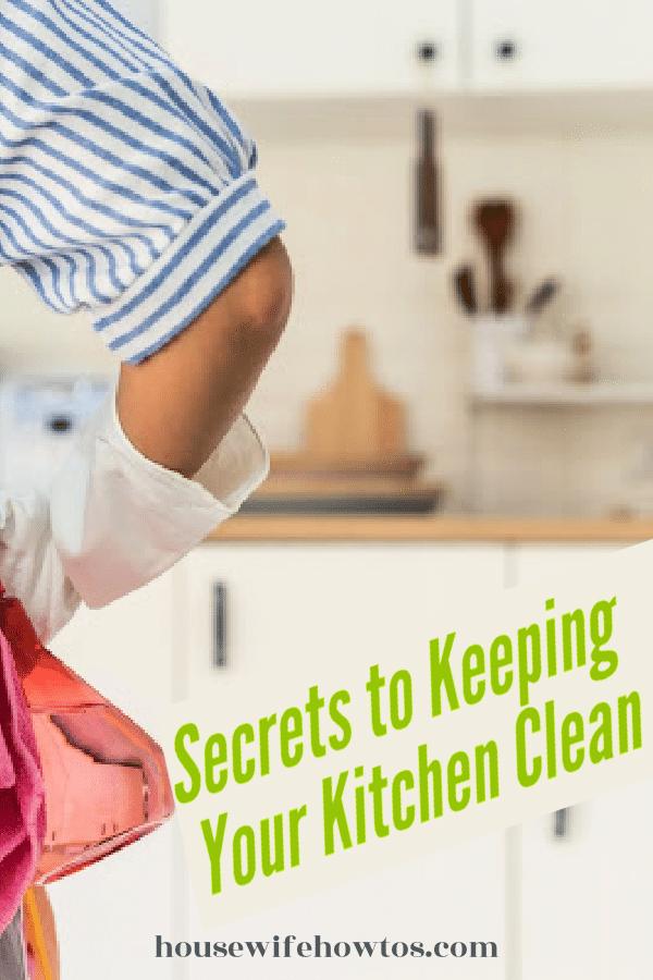 Secretos para mantener limpia su cocina