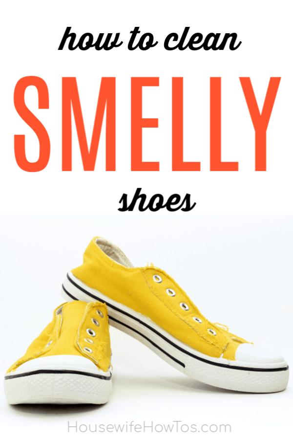 Cómo limpiar zapatos malolientes